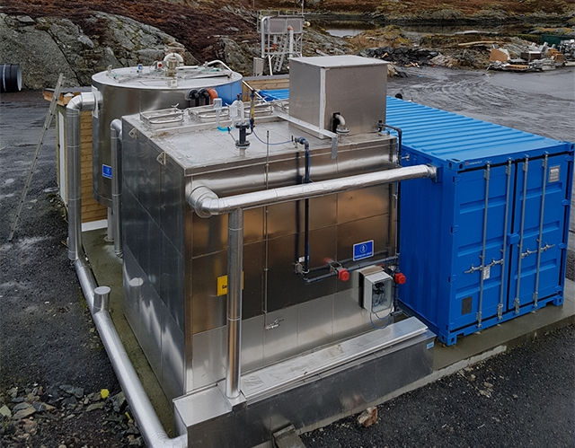 New green technology to produce biogas from fish sludge